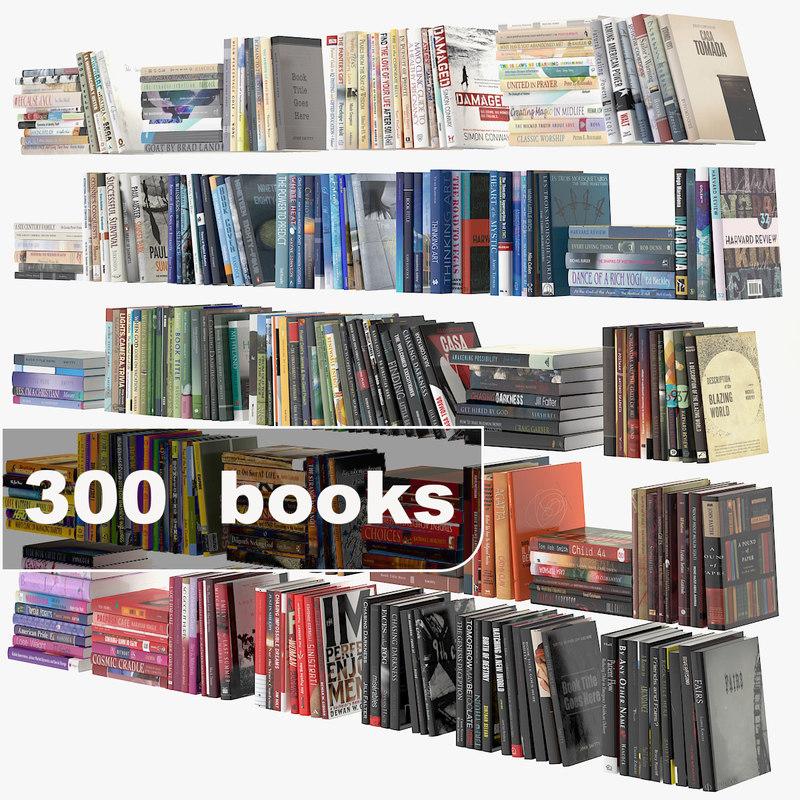 books set 3d 3ds