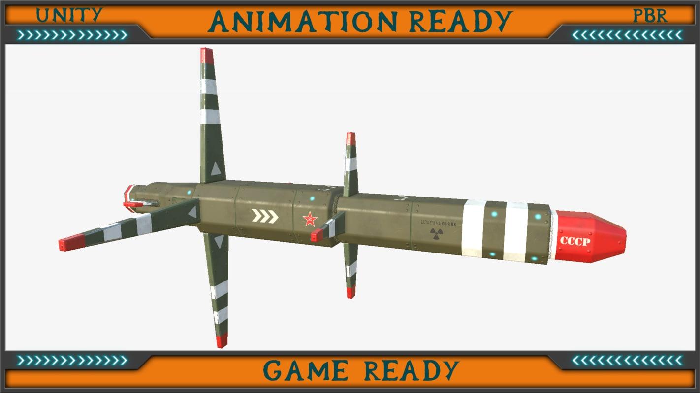 devastation heavy torpedo 3d model