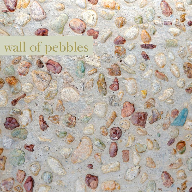 wall pebbles 3d max