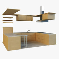 kitchen 3d max