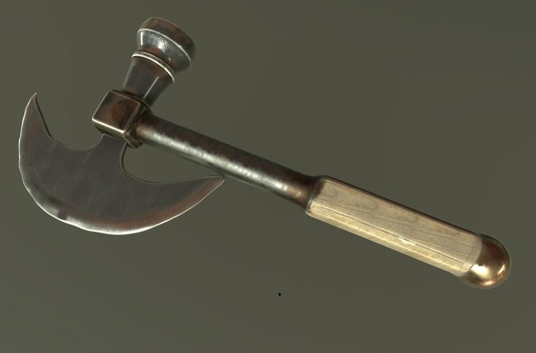 hammer textures: pbr 3d obj
