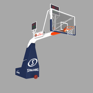 3d model basketball hoop