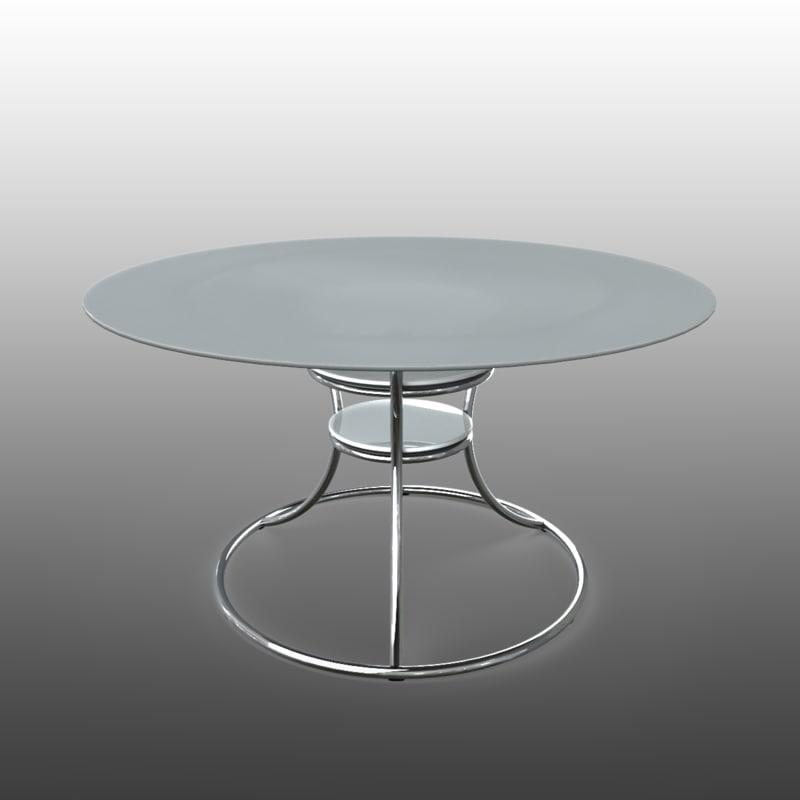 concept table modern furniture 3d obj