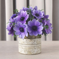 3d bouquet anemones model