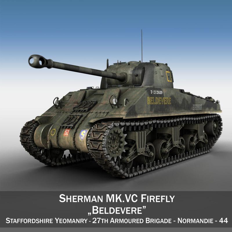 3d m4 sherman firefly vc