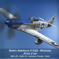 North American P-51D Mustang - Petie 2nd