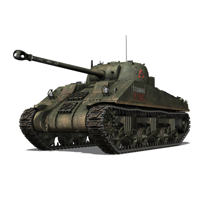 M4 Sherman MK VC Firefly - Tryniec