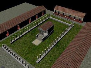 roman temple ma
