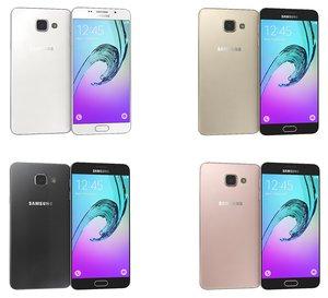 samsung galaxy a5 2016 3d model