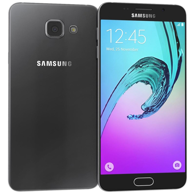 3d model samsung galaxy a5 2016