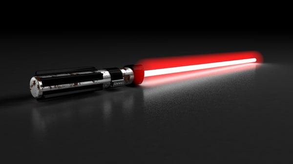 3d light saber dart model