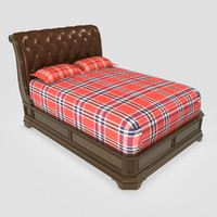 wooden bed wood max