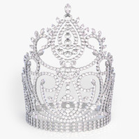 3d model crown diamond