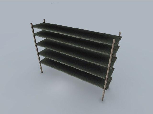art shelf fbx free
