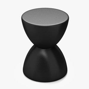 3d model spring stool zuo