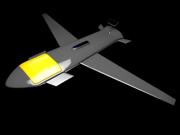 3d model nightcrawler drone