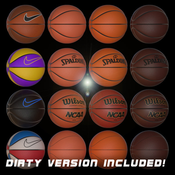 basketballs basket balls 3ds