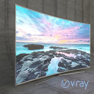 3d model samsung led tv