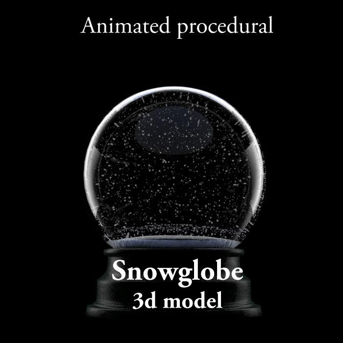snowglobe snow max