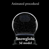 Animated SnowGlobe