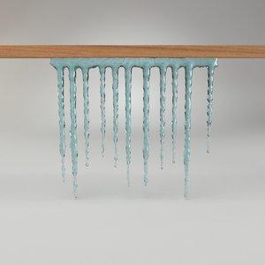 basic kit icicle 3d model