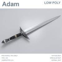adam sword max