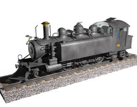 c4d steam locomotive wb299