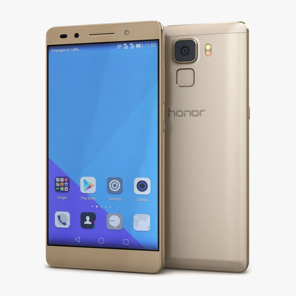 3ds max huawei honor 7 gold