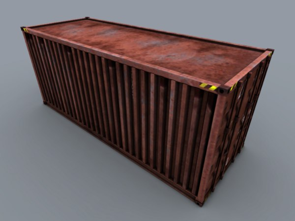 free container 3d model