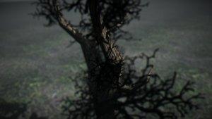 winter tree 3d model