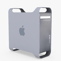 3d model of power mac g5