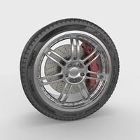 sport car wheel max