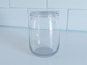 jar modeled 3d max