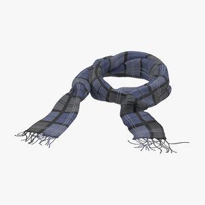scarf 01 3d c4d