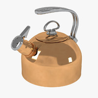 obj chantal copper tea kettle