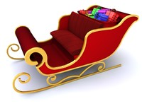 maya sleigh santa claus