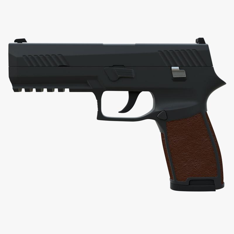 3d gun sig sauer