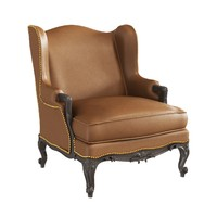 3d hutton baron wing chair model