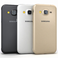 3d model of samsung galaxy j3 colors