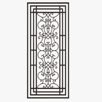 Wrought Iron Gate 02