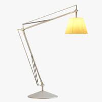 lamp rigged flos max free