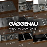 Gaggenau Vario 400 cooktop set