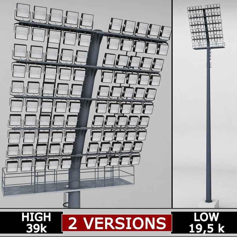 3d stadium lights box large