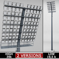 Stadium light lux box large