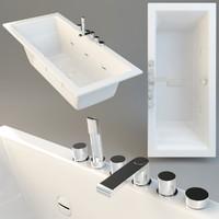 bath Teuco Wilmotte 170x70