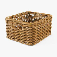 Wicker Basket Ikea Byholma 1(Natural)