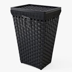 3d laundry basket ikea knarra