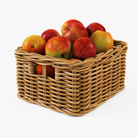 Wicker Apple Basket Ikea Byholma 1(Natural)