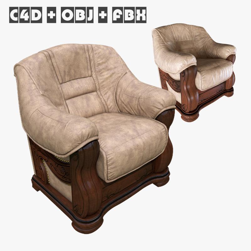 3d consul chair model