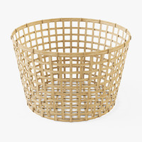 Wicker Basket Ikea Gaddis(diameter 50)